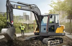 沃尔沃EC75D挖掘机全新发布